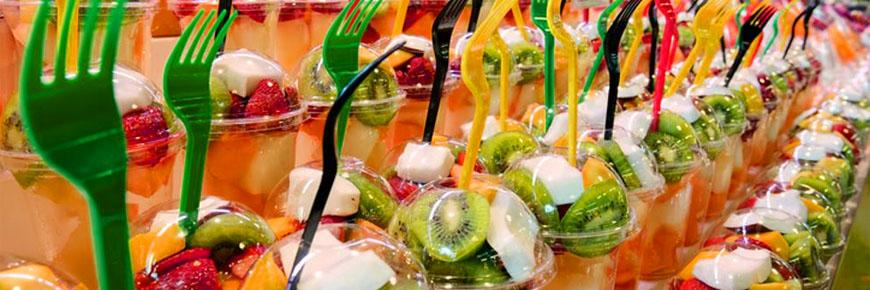 Vasos PET FRAPPE, Frutas