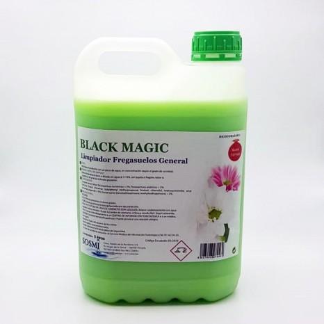Limpiador Fregasuelos BLACK MAGIC Garrafa 5 Ltr.