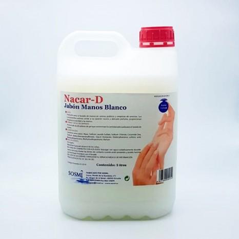 Limpia Manos NACAR-D Garrafa 5 Ltr. (Pack 4 Unid.)