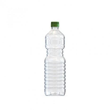 Botella 1 Litro PET Normal (Caja 75 unid.)