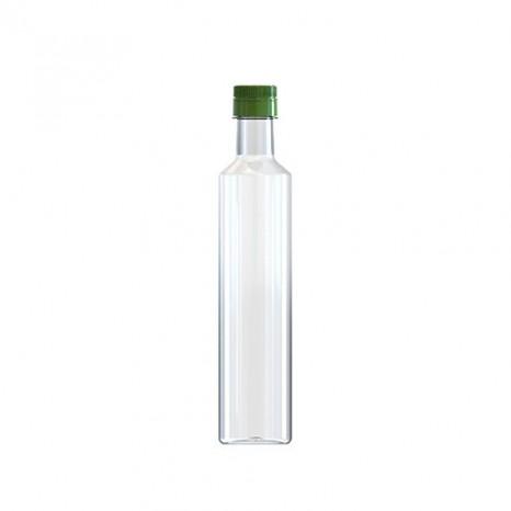 Botella Aceite Dórica 500 ml con tapón irrellenable