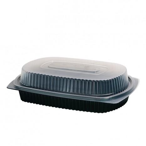 Bandeja Menu Lunch Box 1 Compartimento 1000ml. 200 Unid.