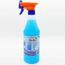 LIMPIA CRISTALES MULTIUSO TU-TU Spray Pulverizador 750 ml. (Pack 4 Unid.)