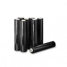 Film Estirable Manual Negro Rollo 23 Micras (Caixa 6 Unid.)