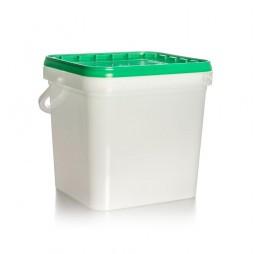 Cubo Rectangular 15 litros (Paq. 12 unds.)