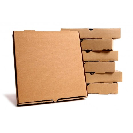 Caja Pizza KRAFT 26 cm (Pack 100 unid.)