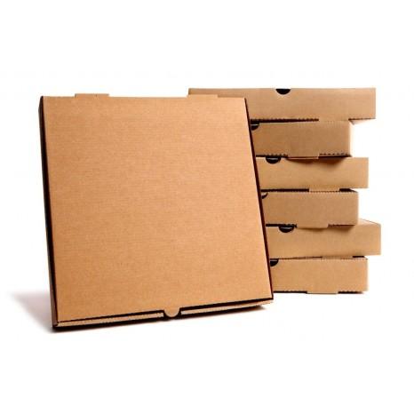 Caja Pizza KRAFT 33 cm (Pack 100 unid.)
