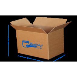Caja cartón de doble canal 60x40x51 cm Pack 5 Unds