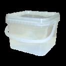 Cubo Rectangular 6.500cc Litros (Paquete 17 Unds)