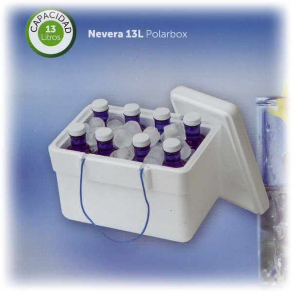 Nevera Corcho Polarbox P 13 litros Pack 4 unid.