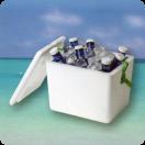 Nevera Corcho Polarbox P 13 litros (Pack 5 unid.)