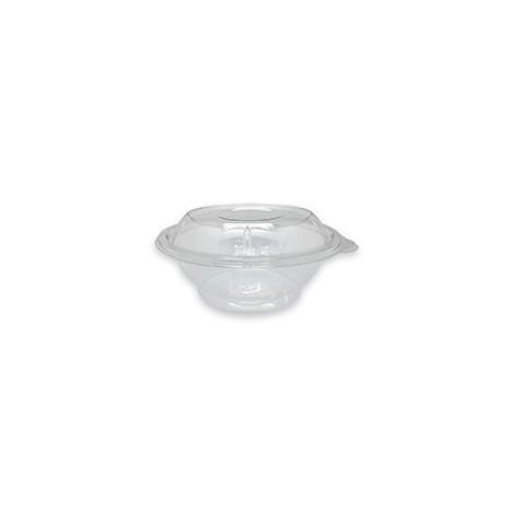 Ensaladera Bowl PET Base transparente 600ml (Caja 600 unid.)