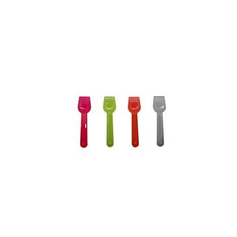 Cuchara de Helado PS Colores Lux 75mm.. (Caja 10000 unid.)