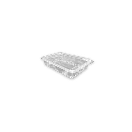 Tarrina Bisagra Loncheado H40 (Caja 400 unid.)