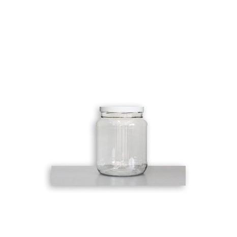 Tarro 1/2 Galón PET Rosca 1.1 kgs. (Paq. 48 unid.)