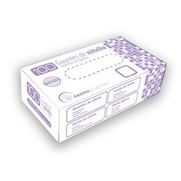 Guantes de Nitrilo Violeta PREMIUM sin Polvo (1000 unidades)