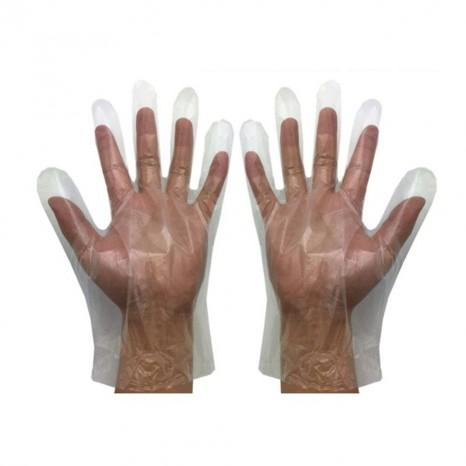Guantes de Plástico HDPE Monobloque (10.000 unidades)