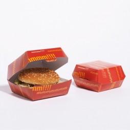Caja Hamburguesa Carton Grande (Pack 50 unid.)