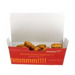 Caja Cartón para Fritos, Patatas, Nuggets... (Pack 1300 unid.)