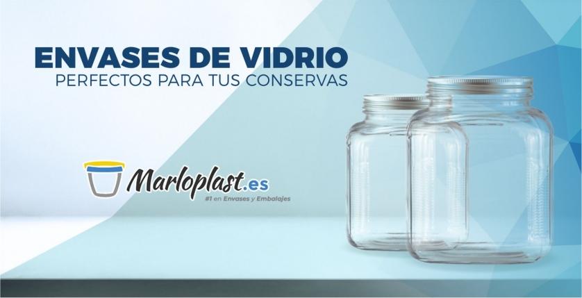 Envases de vidrio perfectos para tus conservas
